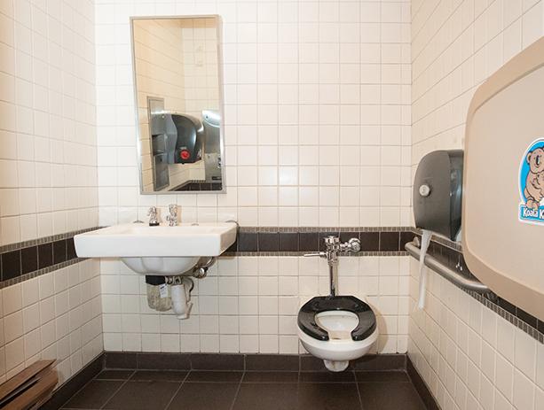 PJS Gender Neutral ADA Bathroom In Opera House