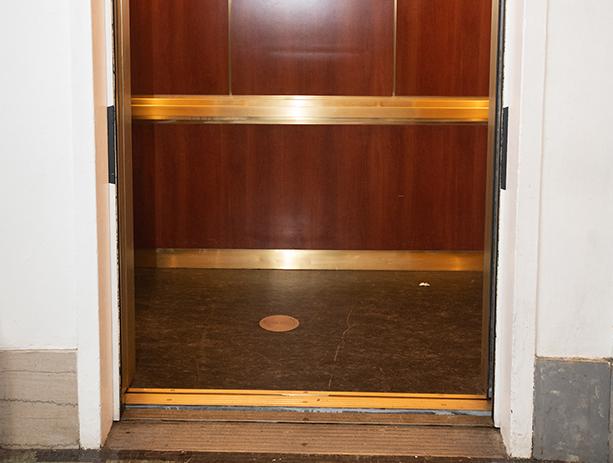PJS Elevator To Mezzanine Bamcafe Restrooms