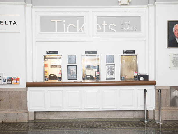 PJS Box Office In Lobby