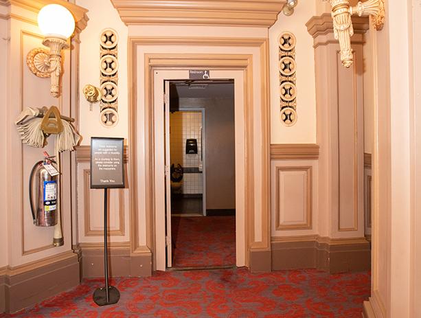 PJS ADA Entrance To Opera House Bathroom
