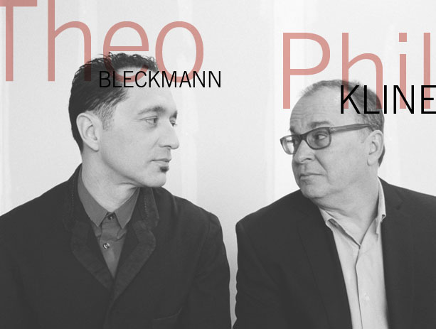 Phil Kline and Theo Bleckmann