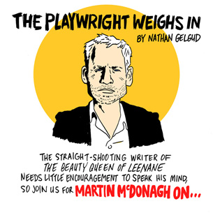 The playwright weighs in by Nathan Gelud, Beauty Queen