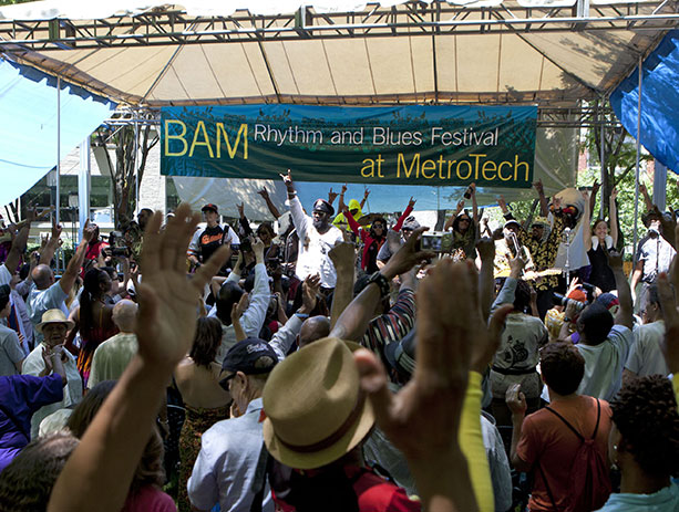 R&B Festival at Metrotech 2017