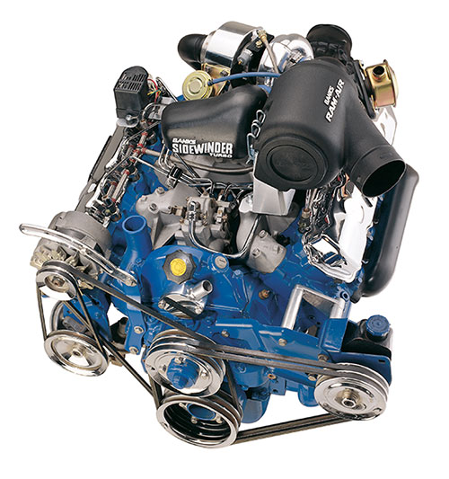 Banks Sidewinder turbo engine
