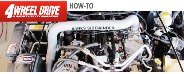 Banks Jeep Turbo in 4WheelDrive magazine
