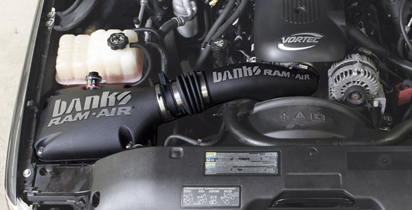 Banks Ram-Air installed on a Chevy 6.0L