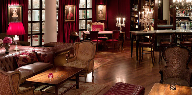 The Library Lounge | Hotel Faena