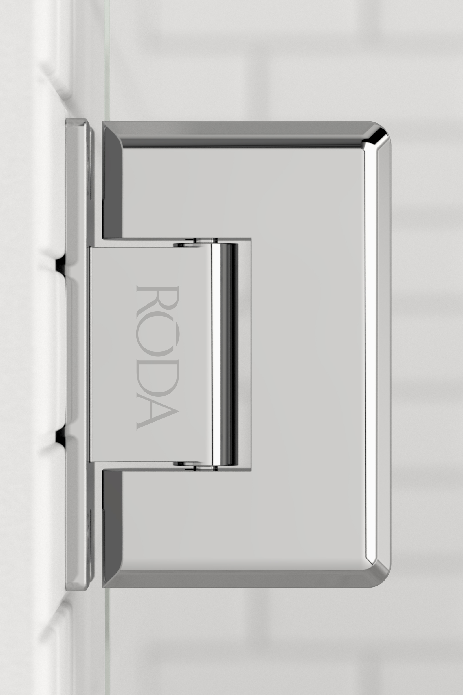 Roda  Hinge  Chrome 01