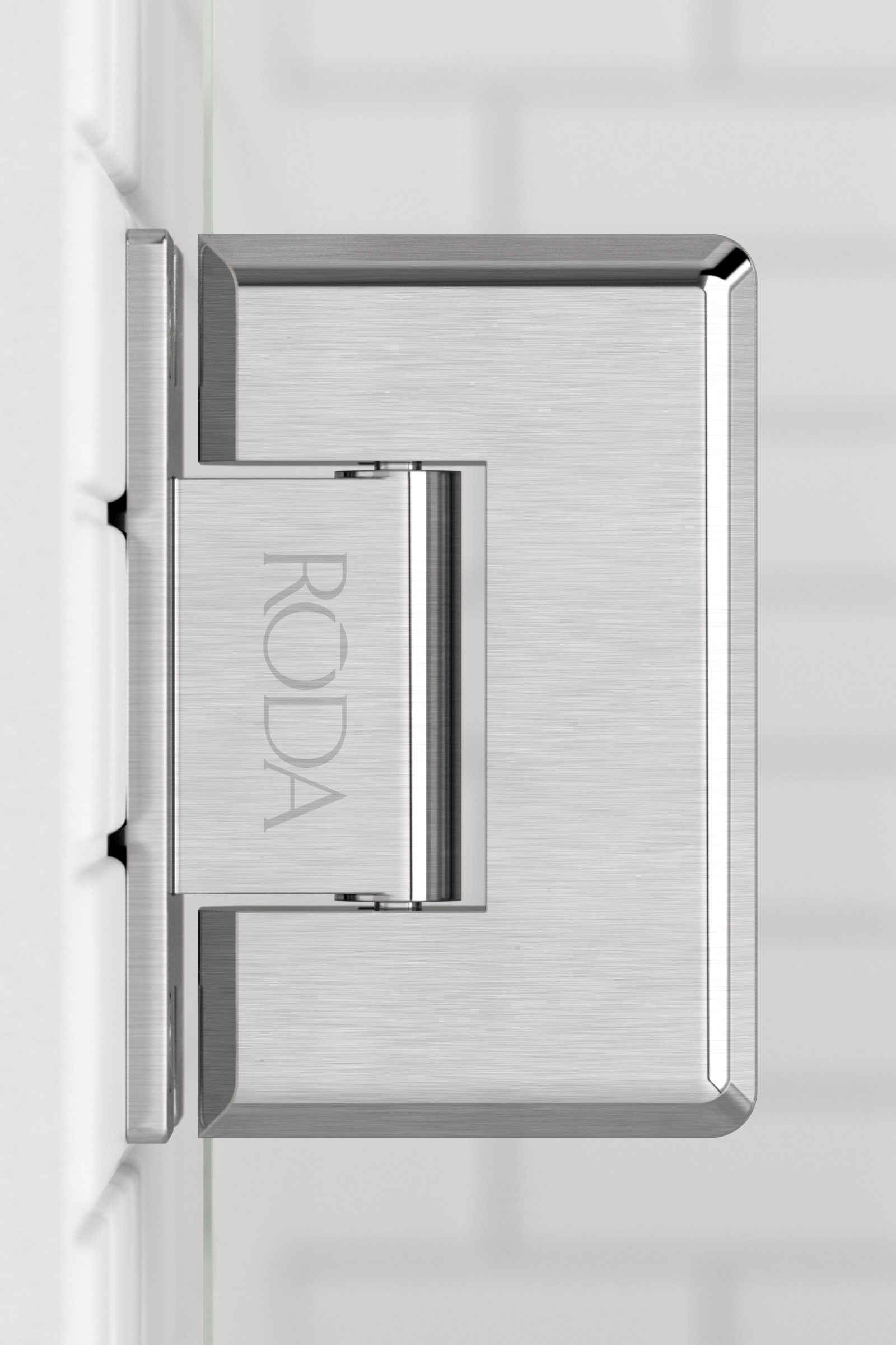 Roda  Hinges  Brushed Nickel 01