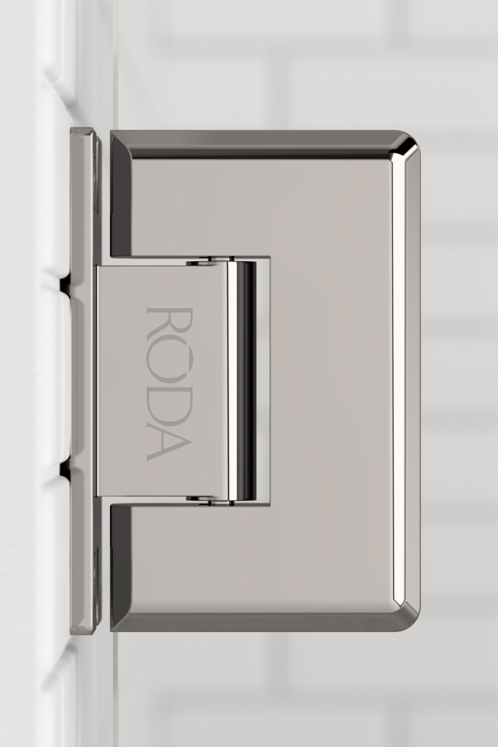 Roda  Hinges  Polished Nickel 01
