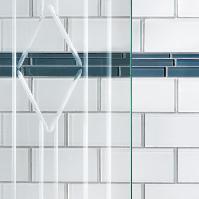 Basco  Tile  Clear Bevel