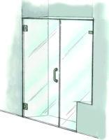 Door & Inline Notched Panel - 935
