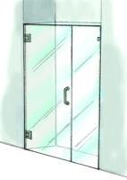 Door & Panel Shower Door-935