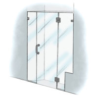 Panel/Door/Panel with Notch - 925