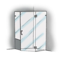 Neo Angle with Buttress Panel - 960