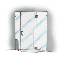 Neo Angle with Notched Panel - 960