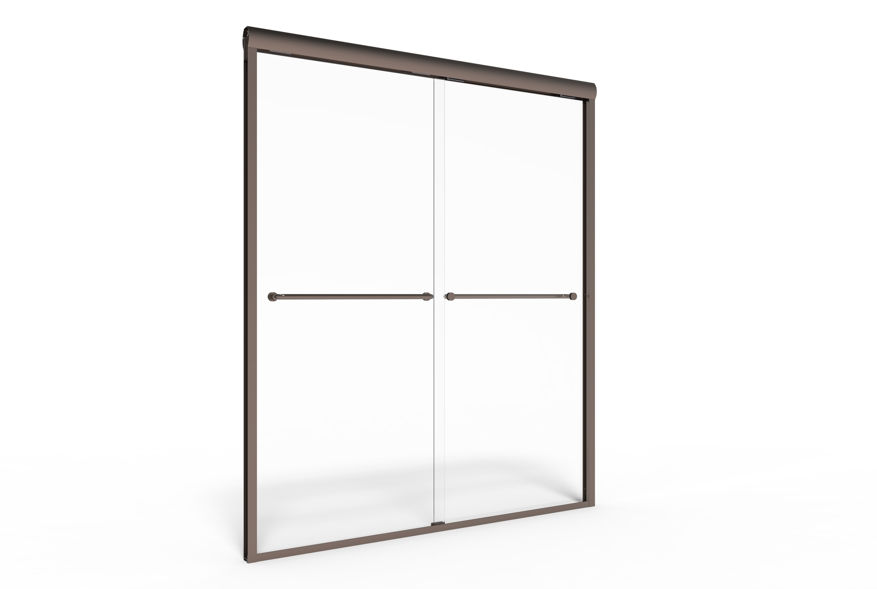 Celesta Semi Frameless 3 8 Inch Glass Sliding Basco
