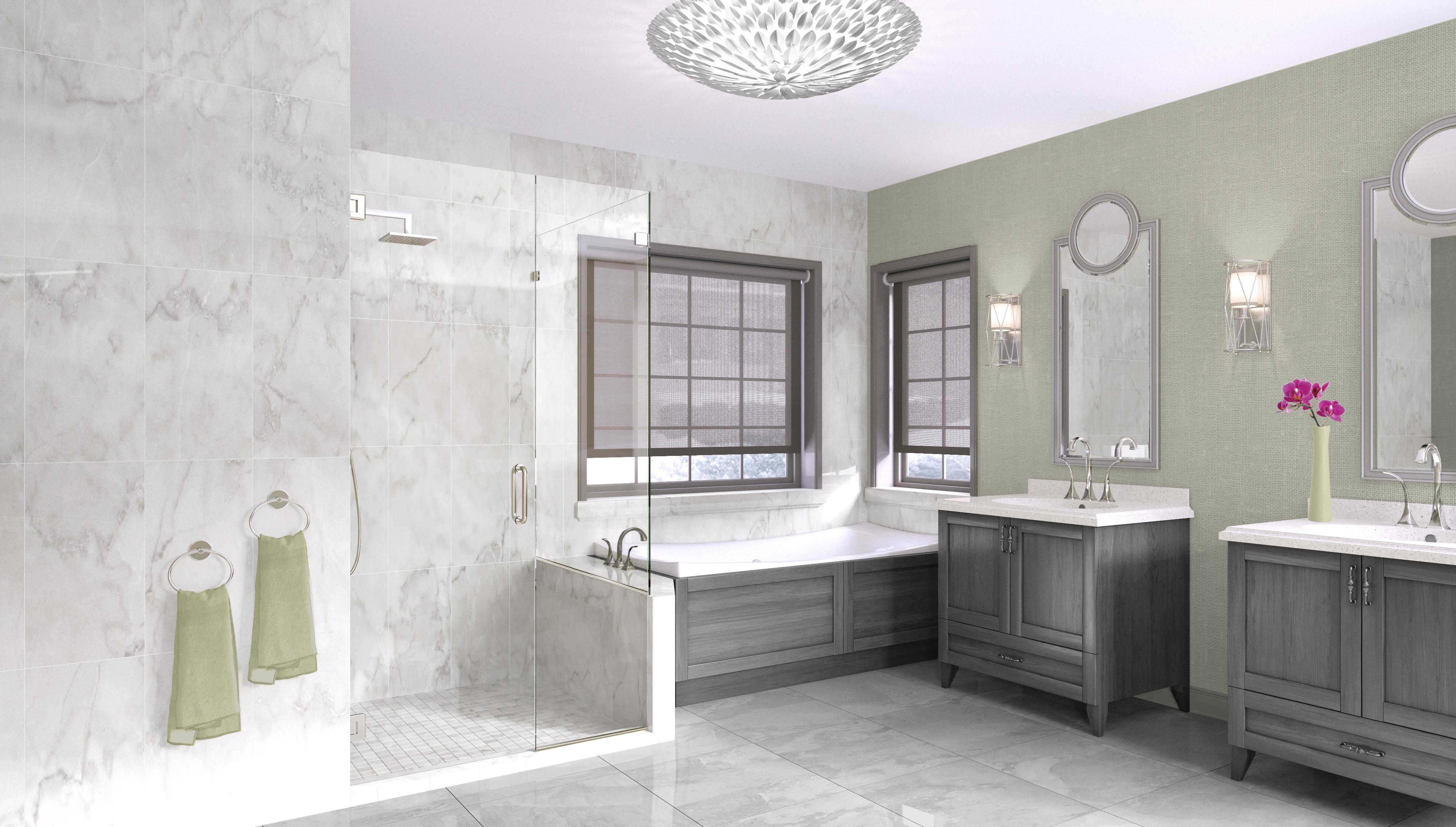 Benefits of Heavy Glass Shower Doors