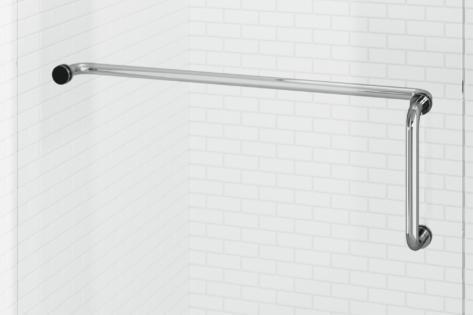 Celesta Pull Handle & Towel Bar Combo