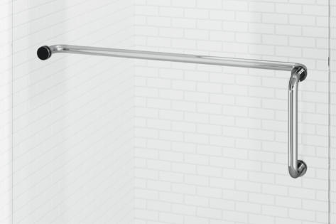 Celesta Pull Handle & Towel Bar Combo