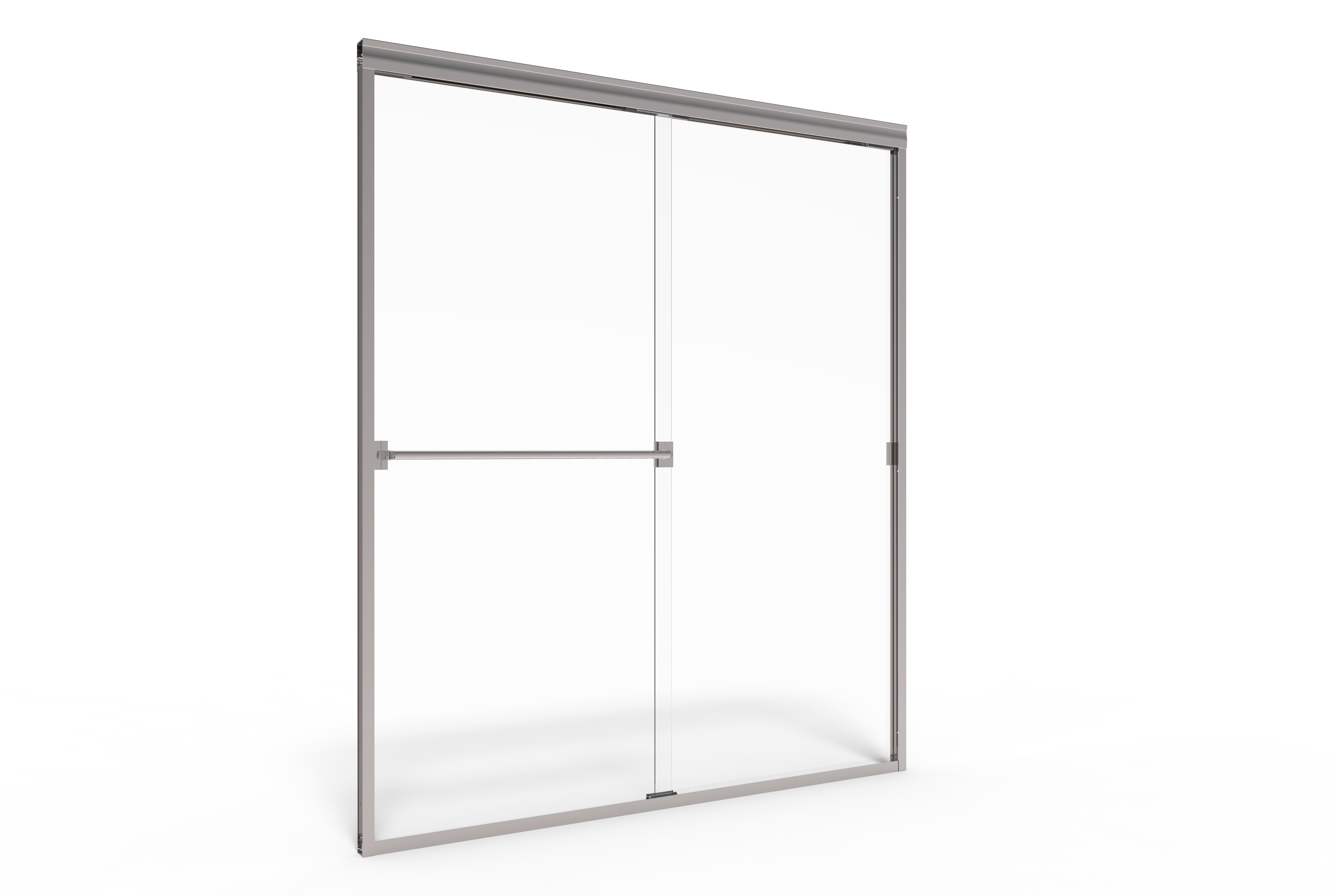 Classic semi frameless 316 inch glass sliding basco shower doors 5919 planetlyrics Image collections
