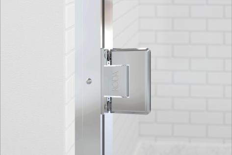 Coppia Adjustable Wall Jamb & Hinge