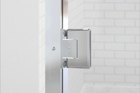 Coppia Adjustable Wall Jamb & Hinge