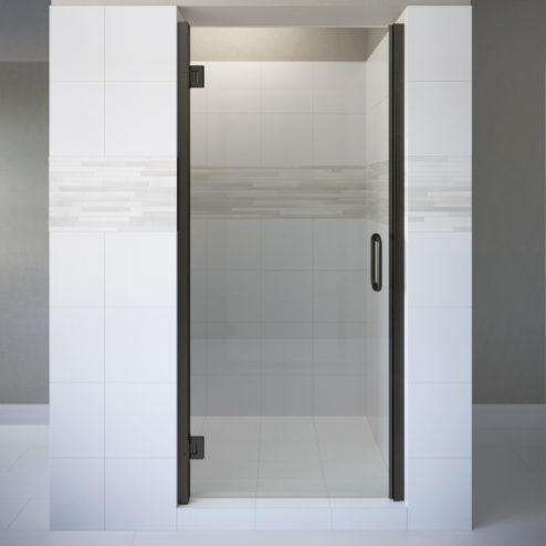 Coppia Frameless 3/8-inch Glass Swing Shower Door