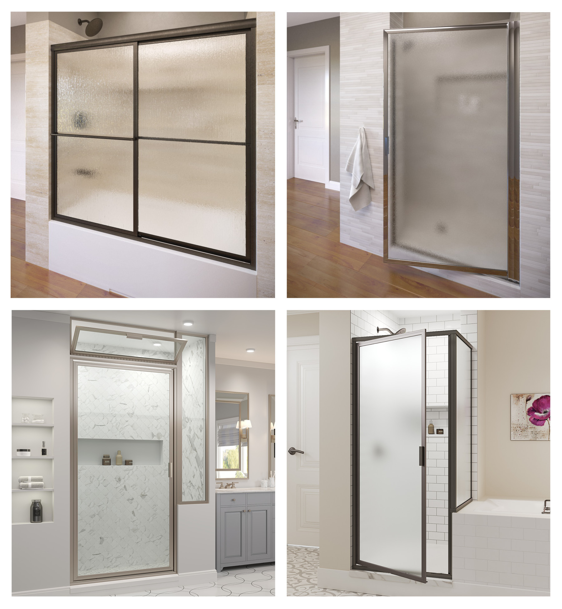 Deluxe Shower Enclosures