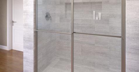 Deluxe Framed 3 16 Inch Glass Sliding Shower Door Basco