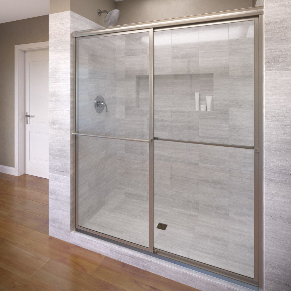Deluxe Sliding Bypass Shower Doors