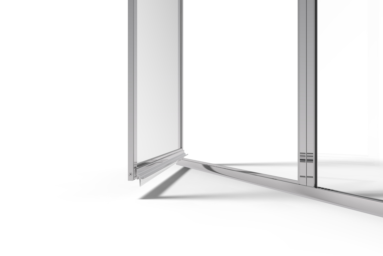 Deluxe Framed 3 16 Inch Glass Swing Shower Door Basco