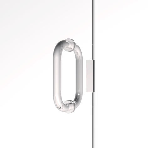 Fusion Through-the-Glass Pull Handle