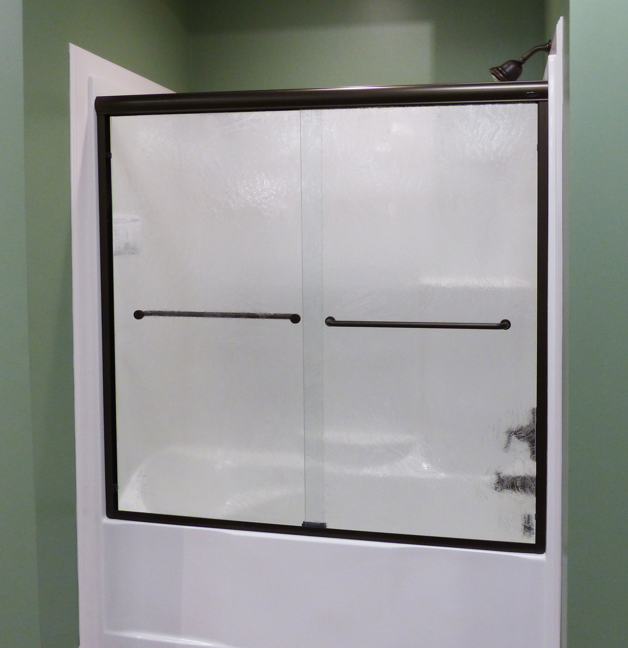 Infinity Semi Frameless 1 4 Inch Glass Sliding Basco