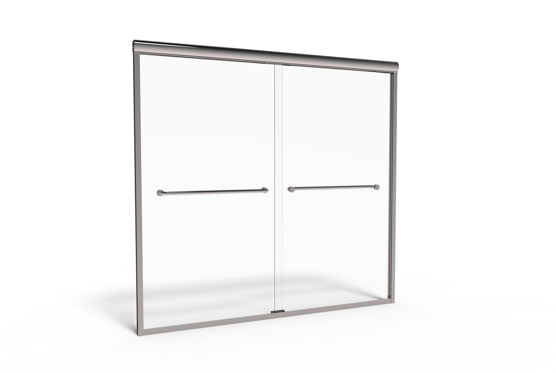 Infinity Semi-Frameless 1/4-inch Glass Sliding… | Basco Shower Doors