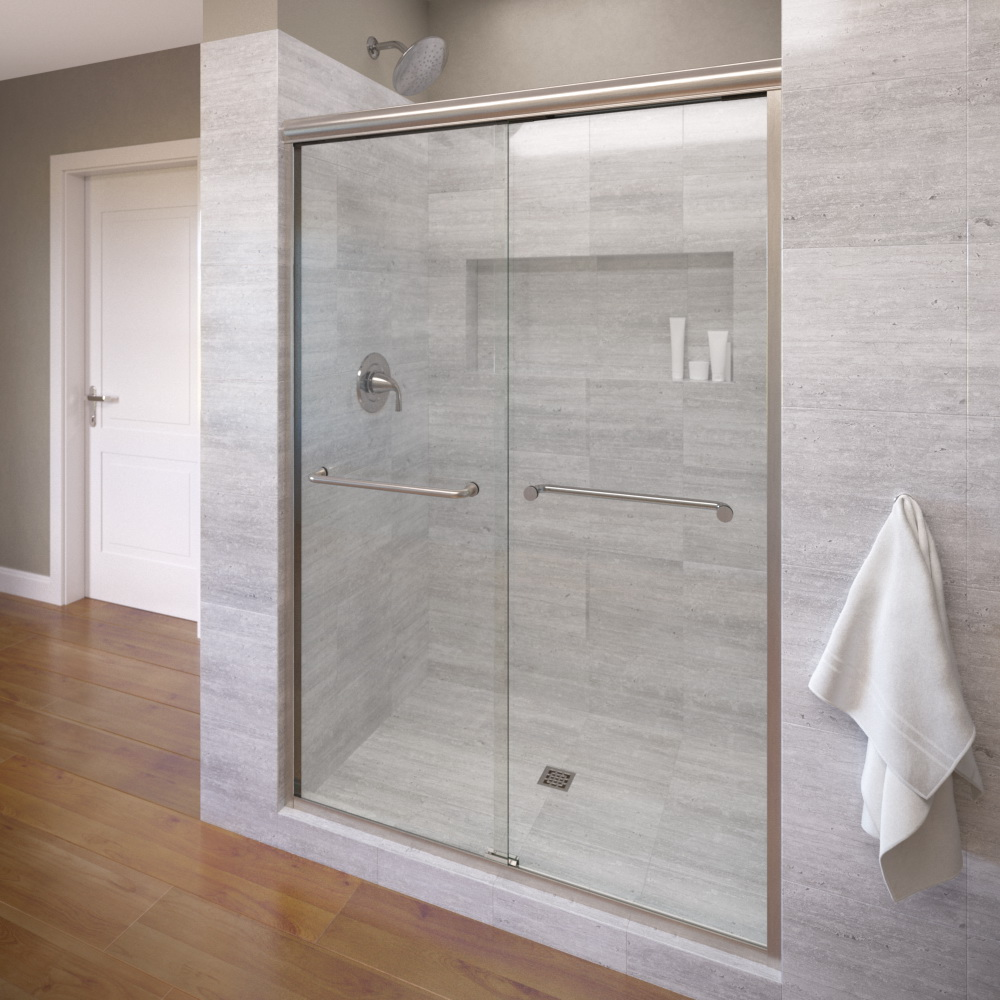 4500  Clear  Brushed Nickel