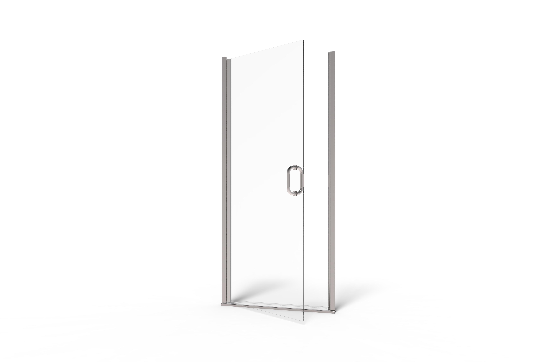 Infinity Semi Frameless 14 Inch Glass Swing Basco Shower Doors