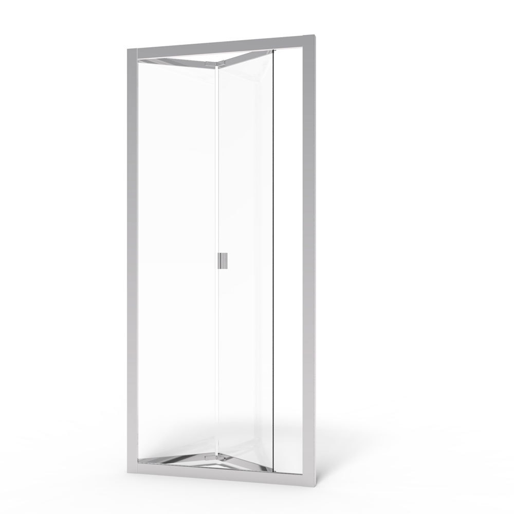 Infinity Semi Frameless 1 4 Inch Glass Bi Fold Basco