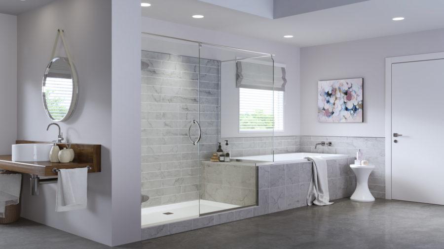 Glass Shower Doors, Enclosures, Custom & Sliding… | Basco ...