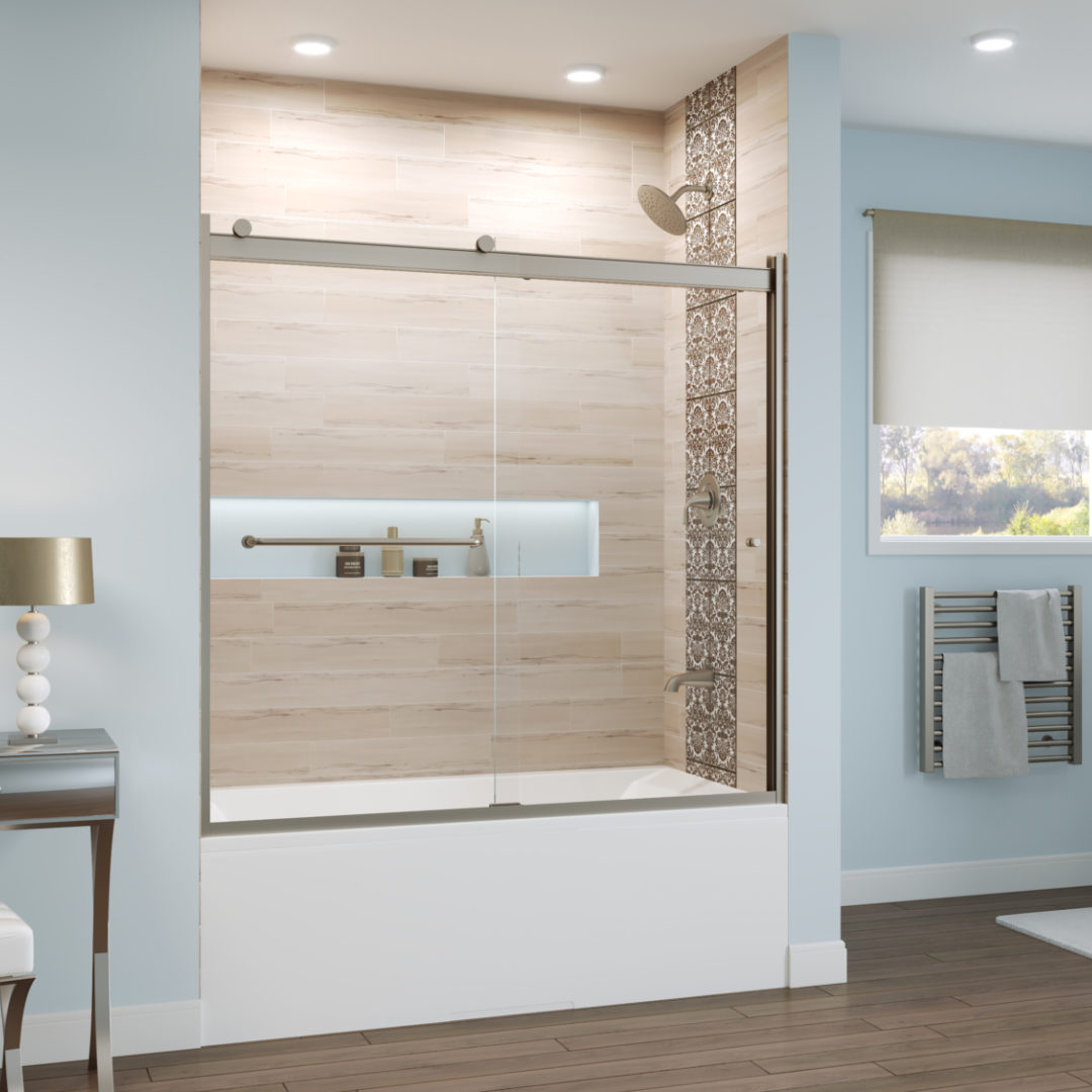 8 Reasons to Choose a Shower Door Over a Shower Curtain