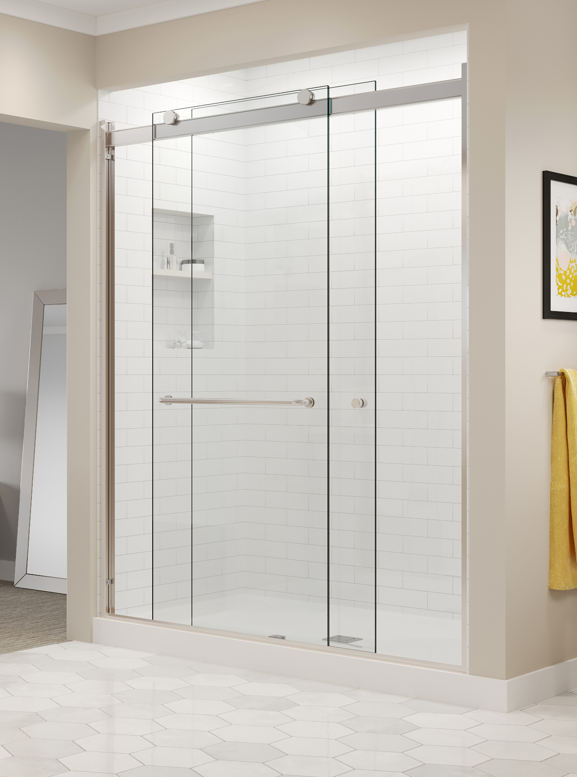 Acrylic Fiberglass Guide Basco Shower Doors