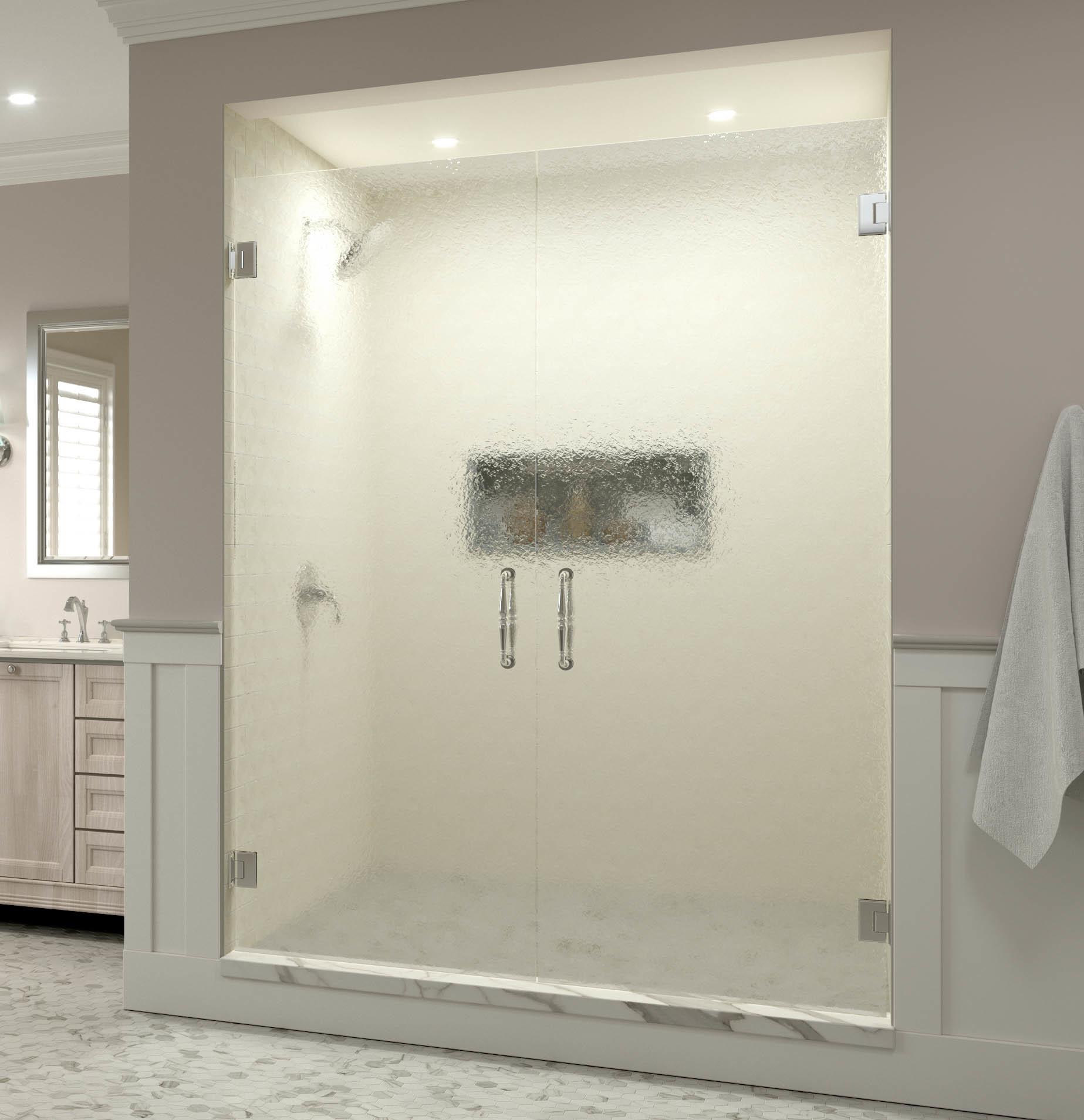 Tresor Frameless 3 8 Inch Glass French Swing Basco Shower
