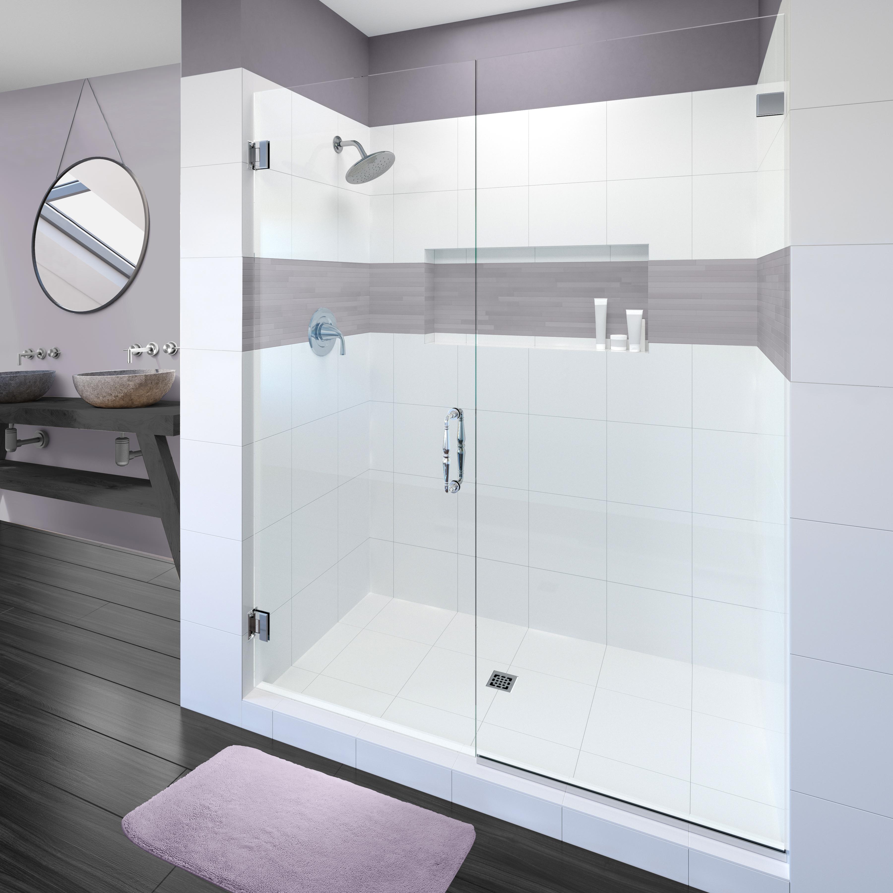 Tresor Frameless 38 Inch Glass Swing Door Basco Shower Doors
