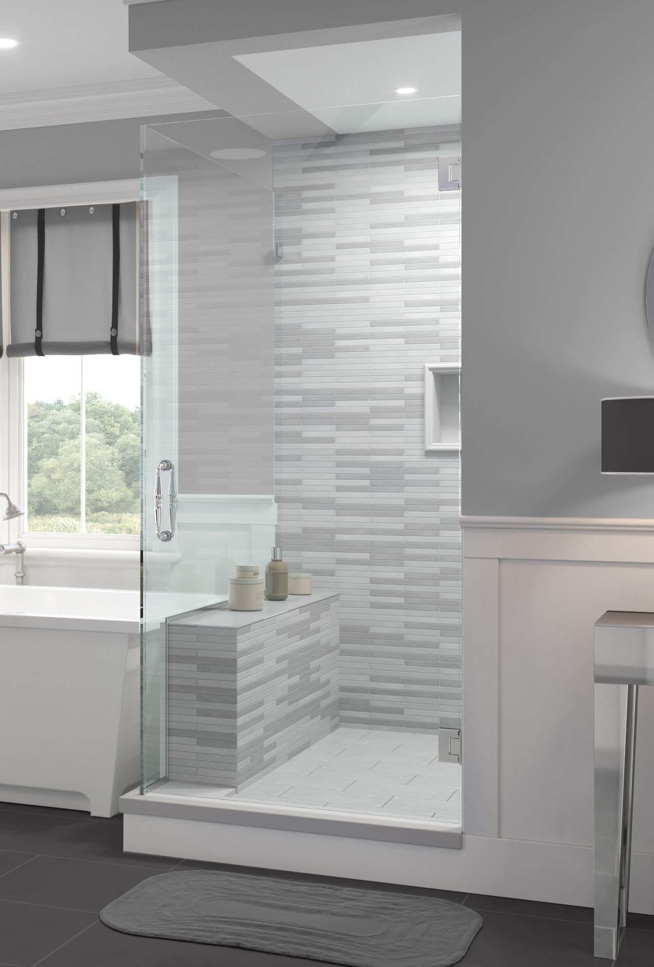 Tresor Frameless 3 8 Inch Glass Swing Door Basco Shower