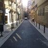 Arranjament del passatge Alió al districte de Gràcia de Barcelona