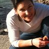 Lara at river