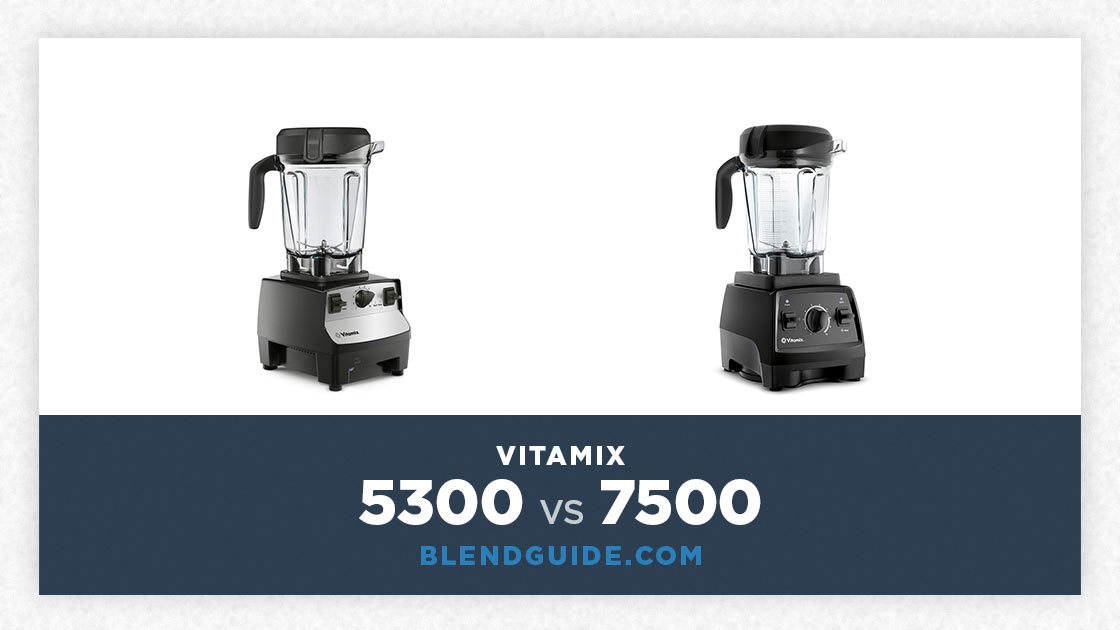 Vitamix 5300 Vs Vitamix 7500