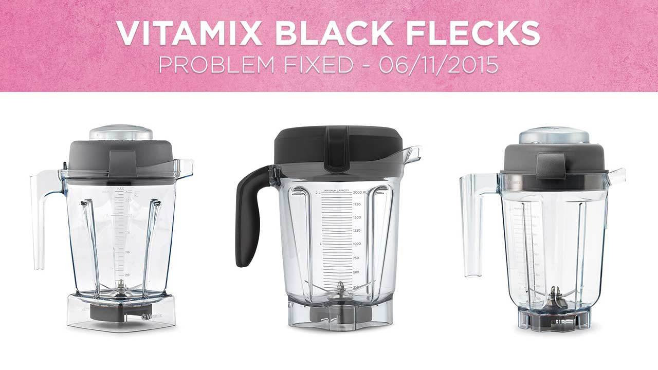 Vitamix Black Flecks Specs Flakes