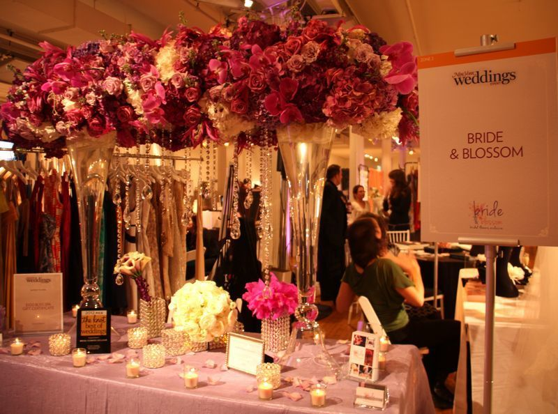 ny weddings bridal show by bride blossom nyc 39 s only luxury wedding florist wedding ideas. Black Bedroom Furniture Sets. Home Design Ideas