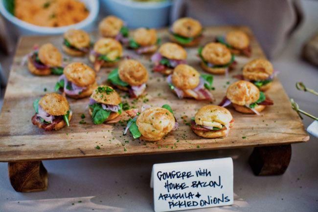 Wedding Food Trends 2014